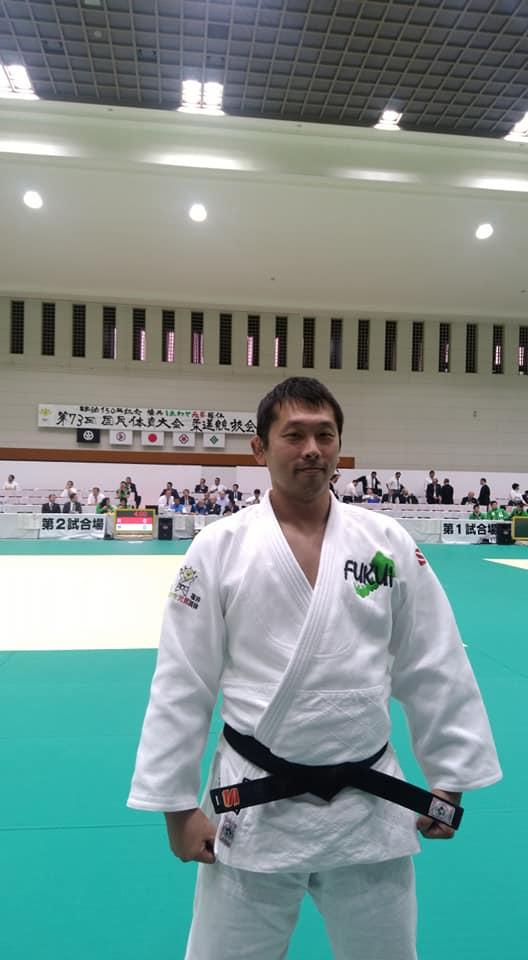 福井しあわせ元気国体柔道競技に参加してきました。